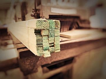Timber Laths 3m/10ft (3mm Thickness)