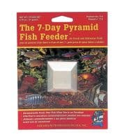 API Pyramid 7 Day Fish Feeder Holiday Vacation Food Tropical Coldwater X5