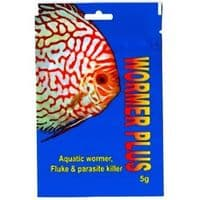 Cloverleaf Discus Fish Wormer 5g Parasite Treatment All Freshwater Fish