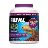 Fluval Tropical Cichlid Sinking Fish Pellet Medium Replaces Nutrafin Food