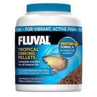 Fluval Tropical Sinking Fish Pellet Small Replaces Nutrafin Foods