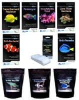 NT Marine Reef Fish Water Treatment Bacteria Parasite Parazoryne SuperCarb