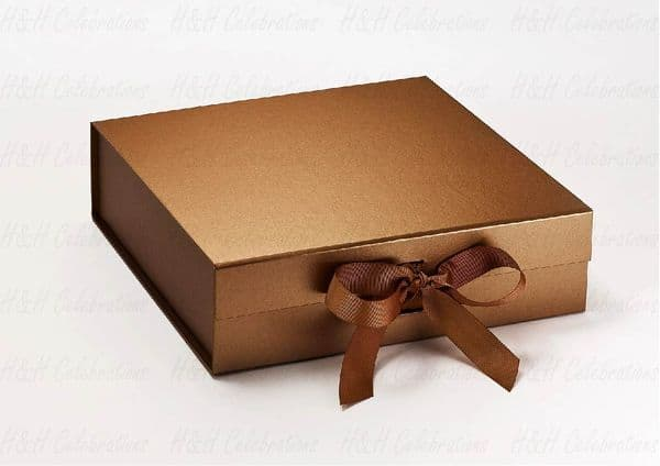 Copper Luxury Personalised Gift Box
