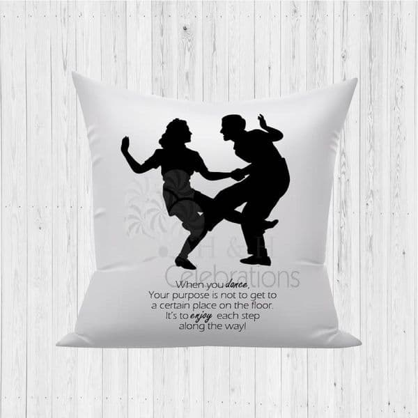 When You Dance Decorative Cushion