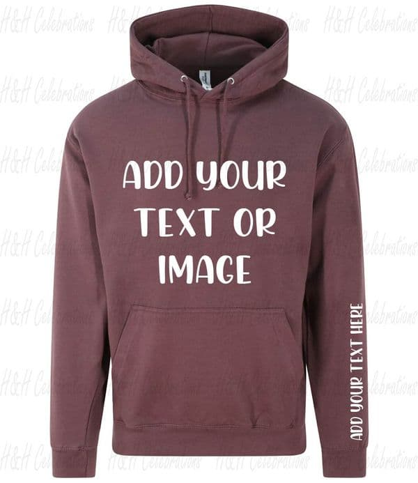 Wild Mulberry Adults Personalised Hoodie