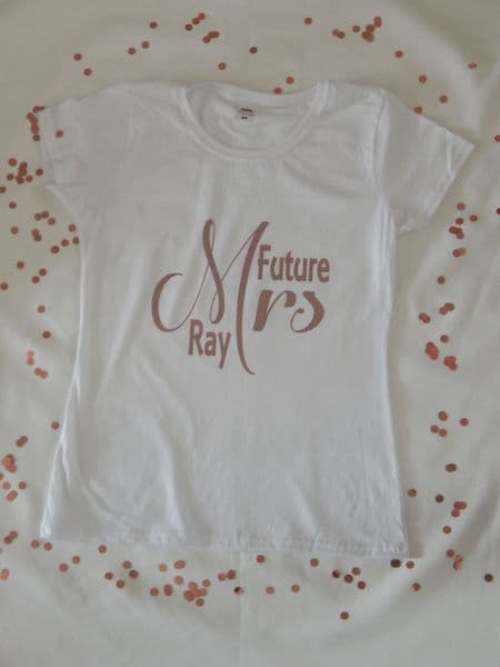 Women's Future Mrs Personalised Polo Shirt