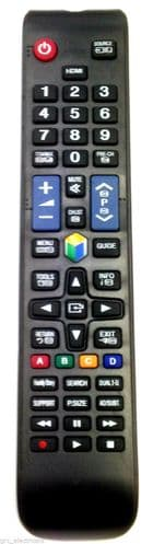 New Replacement Remote Control Samsung AA59-00582A UE26EH4505W UE32EH5300K