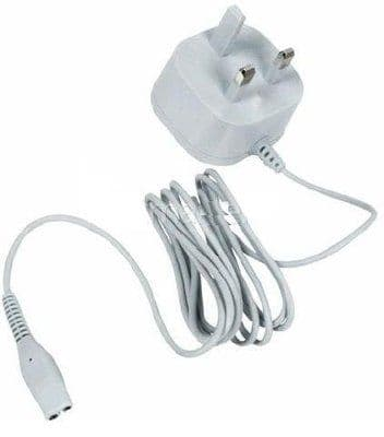 Philips 3 Pin UK Charger Power Lead Cable For Trimmer / Shaver HP6335