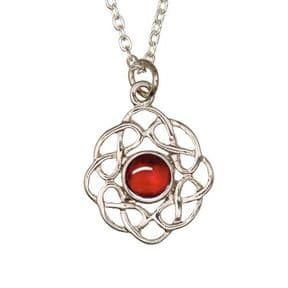 Celtic Birthstone Pendant July - Ruby 2006