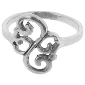Celtic Silver Ring 0031