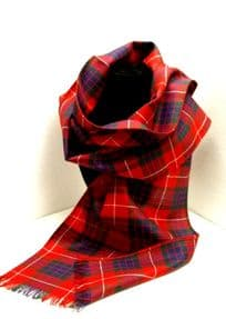 Outlander Inspired Clan Fraser Pure Wool Scarf 1073