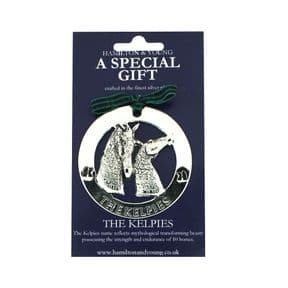 Silver Plated Decoration Kelpies 9727