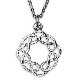 Sterling Silver Celtic Knot Pendant 2032