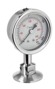 Autoclave gauge Stainless Steel