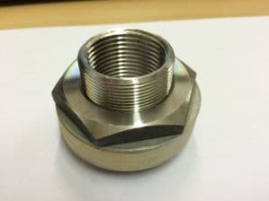 Stainless Steel Tank Adapter BSPP Threaded