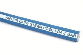 VAPOUR-DAIRY STEAM HOSE (FDA Approved)  7 BAR