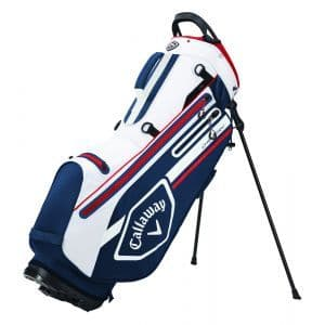 CALLAWAY 2021 CHEV DRY STAND BAG NAVY/WHITE/RED