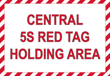 5S Area Sign