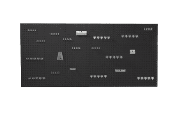 6 Panel and 80 Piece Hook Kit