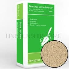 Lime Green Buff Coloured Natural Hydraulic Lime Mortar NHL 5 (25kg)