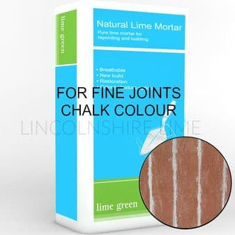 White Lime Mortar for fine joints