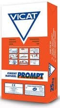 Vicat Prompt Natural Cement 25kg