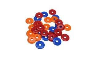 25MM PENNY WASHERS MARKERS