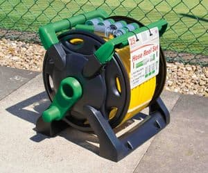 HOSE REEL 25m AND FITTINGS