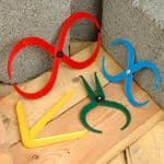 WOOD TURNERS PLASTIC CALIPERS