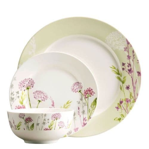 Aynsley Floral Spree 12 Piece Dinner Set