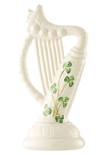 Belleek China Classic Harp Ornament