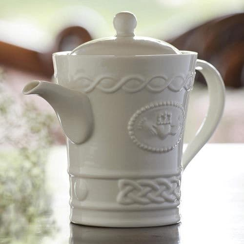Belleek Claddagh Beverage Teapot