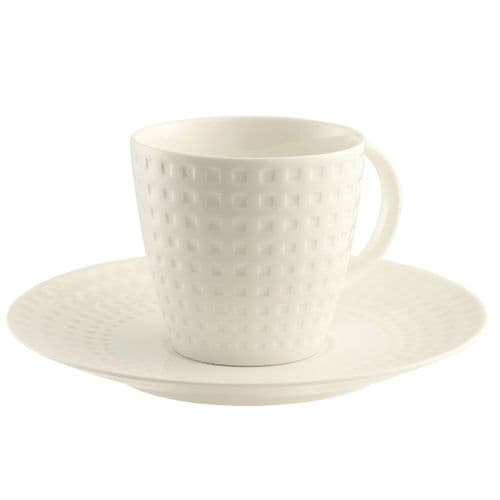 Belleek Living Grafton 4 Teacups and Saucers