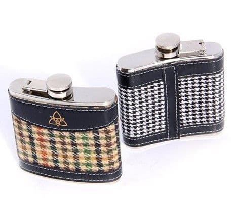 Celtic Tweeds Hip Flask