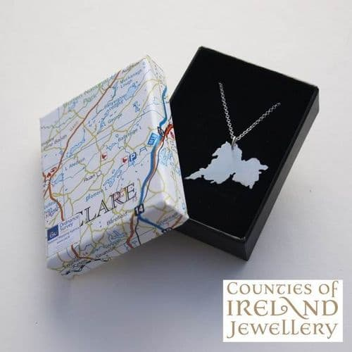 County Clare Map Pendant