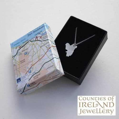 County Derry Map Pendant