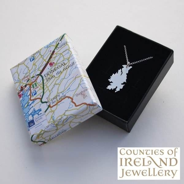 County Donegal Map Pendant