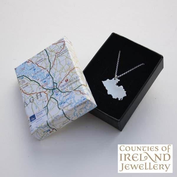 County Fermanagh Map Pendant