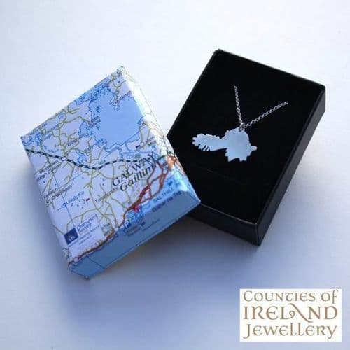 County Galway Map Pendant