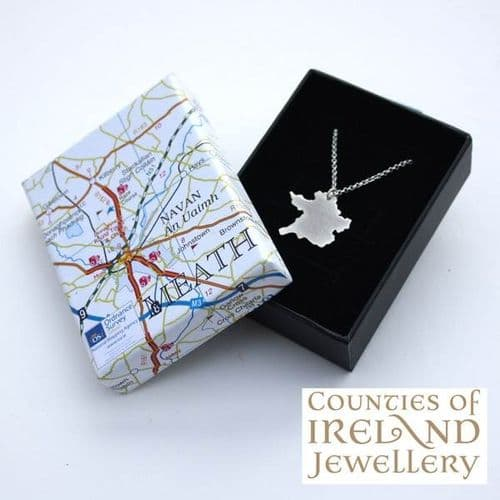 County Meath Map Pendant