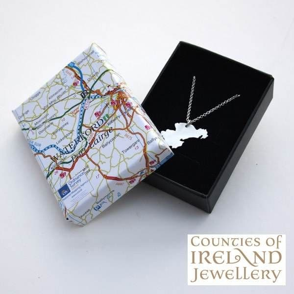 County Waterford Map Pendant