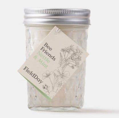 Field Day Nettle and Mint Jam Jar Candle