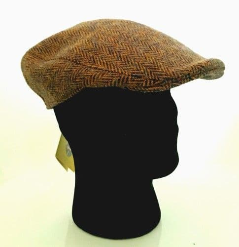 Hanna Hats Irish Tweed Peaked Cap - Medium (11)