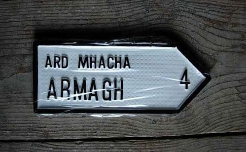 Irish Road Sign - Armagh
