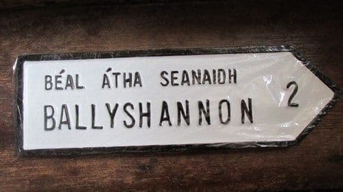 Irish Road Sign - Ballyshannon