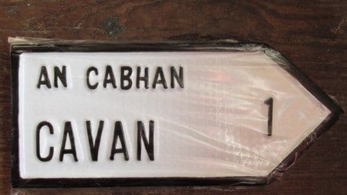 Irish Road Sign - Cavan