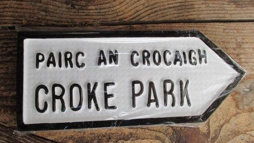 Irish Road Sign - Croke Park