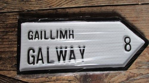 Irish Road Sign - Galway