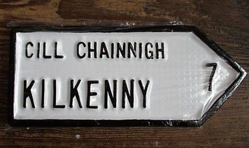Irish Road Sign - Kilkenny