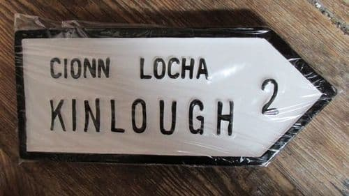 Irish Road Sign - Kinlough